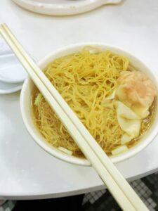 麥文記麵家 上湯雲呑麺