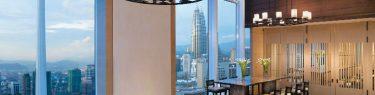 ランソン プレイス ブキット セイロン サービスド レジデンシズ48階ラウンジ