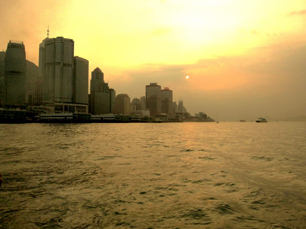 Hong Kong_Sunset2