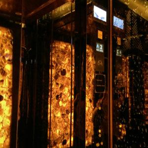 レヴェリーサイゴンのエレベーター内